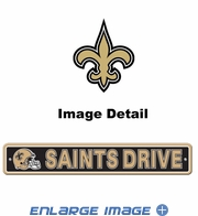 Street Sign - New Orleans Saints -