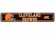 "Street Sign - NFL Football - Cleveland Browns ""Browns Drive"""
