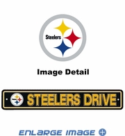 Street Sign - Pittsburgh Steelers -