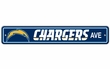 "Street Sign - San Diego Chargers - ""Chargers Ave"""