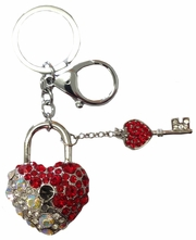 Swarovski Crystal Key Chains