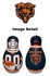 Tackle Buddy Inflatable Punching Bop Bag - Mini Size - Chicago Bears