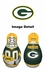 Tackle Buddy Inflatable Punching Bop Bag - Mini Size - Green Bay Packers