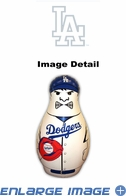 Tackle Buddy Inflatable Punching Bop Bag - Mini Size - Los Angeles Dodgers