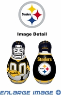Tackle Buddy Inflatable Punching Bop Bag - Mini Size - Pittsburgh Steelers