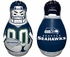 Tackle Buddy Inflatable Punching Bop Bag - Mini Size - Seattle Seahawks