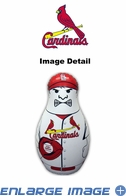 Tackle Buddy Inflatable Punching Bop Bag - Mini Size - St. Louis Cardinals