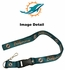 Team Logo Lanyard Keyring with Velcro closure - Miami Dolphins - Green