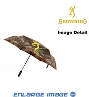 Travel Umbrella - Browning Buckmark Logo - Camo