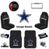 Ultimate Fan Auto Accessories Interior/Exterior Combo Kit Gift Set - 12pc - Dallas Cowboys