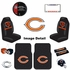Ultimate Fan Auto Accessories Interior/Exterior Combo Kit Gift Set - 12pc - Chicago Bears