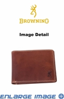 Wallet - Leather - Bi-fold - Browning