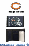 Wallet - Tri-Fold - Nylon - Chicago Bears