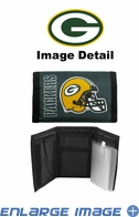 Wallet - Tri-Fold - Nylon - Green Bay Packers