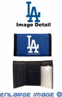 Wallet - Tri-Fold - Nylon - Los Angeles Dodgers