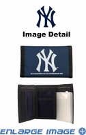 Wallet - Tri-Fold - Nylon - New York Yankees