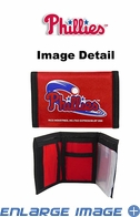 Wallet - Tri-Fold - Nylon - Philadelphia Phillies