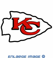 Window Graphic Die Cut Film - Kansas City Chiefs