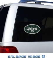 Window Graphic Die Cut Film - New York Jets
