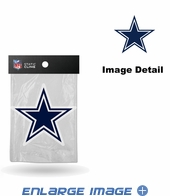 Window Graphic - Die-Cut Static Cling  - Dallas Cowboys