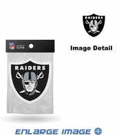 Window Graphic - Die-Cut Static Cling  - Oakland Raiders