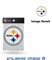 Window Graphic - Die-Cut Static Cling  - Pittsburgh Steelers