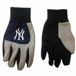 Work Gloves - Color Block Style - MLB - New York Yankees