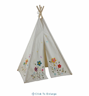 6 Ft Flower Blossom Teepee -Play House