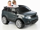 Battery Operated Vehicles- Feber Range Rover 12v Gray 2 Seat