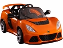 Battery Operated Vehicles-Kalee Lotus Exige 12v Orange
