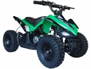 MotoTec 24v Mini Quad v2 Kids ATV Green