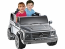 Battery Powered Kids Car-NPL Mercedes Benz G55 12v Truck-Gray