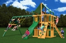Chateau Clubhouse Deluxe Cedar Swing Set