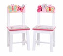 Guidecraft Butterfly Buddies Kids Chairs Set of 2