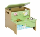 Guidecraft Farm Friends Storage Step Up Stool