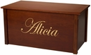 Handcrafted and personalized Toyboxes-Made in USA