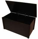 Handcrafted Wooden Espresso Toybox-Made in USA