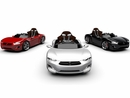 Henes Broon F830 12v Kids Super Car with Andriod Tablet and Remote Control in White, Red or Black