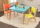 Highlighter Modern Kids Table & 2 Chair set