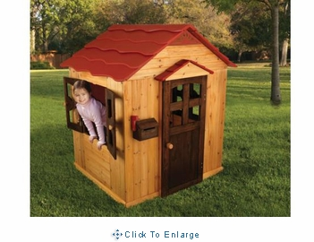 KidKraft Outdoor Wooden Playhouse