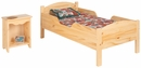 Kids bedroom furniture-Traditional Toddler Bed, Made in America