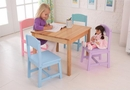 Kids seaside table & 4-chair set