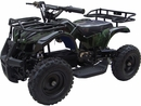 MotoTec 24v Mini Quad v4 Camo Green Kids ATV