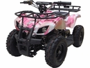 MotoTec 24v Mini Quad v4 Pink Kids ATV
