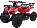 MotoTec 24v Mini Quad v4 Red Kids ATV