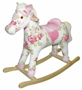 Rosie the Plush Rocking Horse