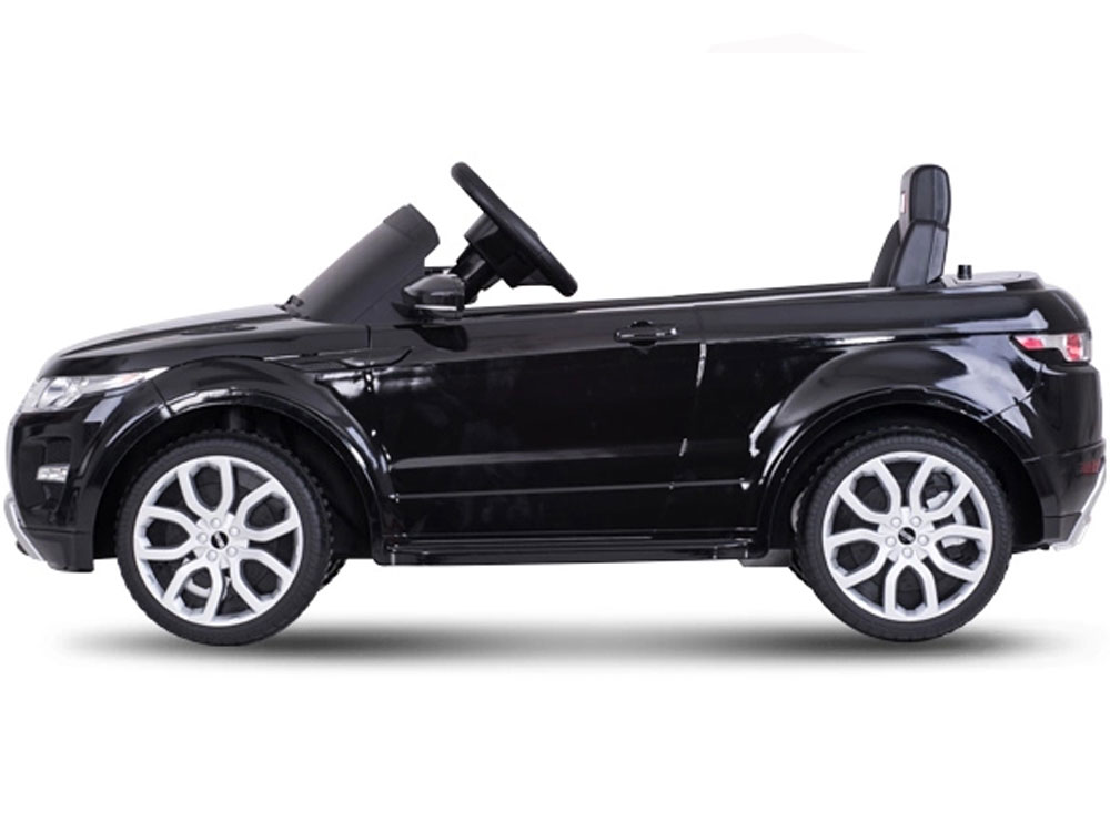 Car Battery Amp Hours >> Rastar Land Rover Evoque 12v Black (Remote Controlled)Battery Powered Kids Car-Free Shipping