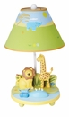 Safari Savanna Smiles Kids Table Lamp