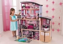Sparkle mansion dollhouse w/ 30 pc doll furniture