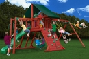 Sun Climber II Outdoor Swing Set By Gorilla Playsets